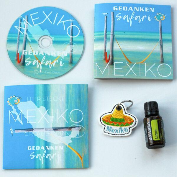 Set GedankenSafari Mexiko Urlaubsgefühle Box