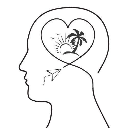 GedankenSafari Kopf Symbol