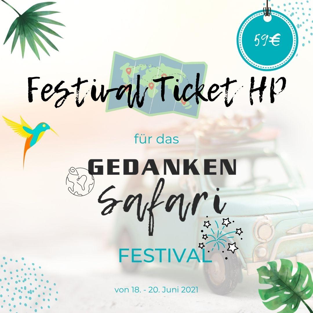GedankenSafari Festival Paket HP