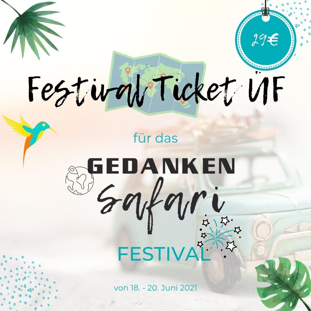 GedankenSafari Festival Paket