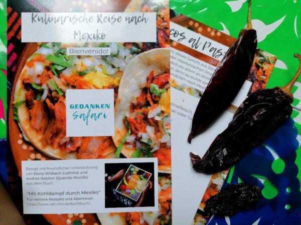 Kulinarische Reise nach Mexiko mit Chilis