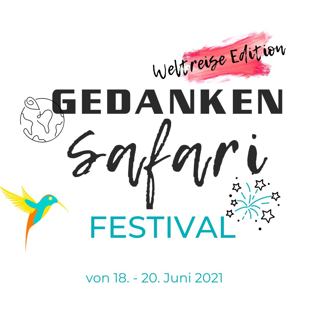 GedankenSafari Festival Weltreise Edition